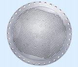 Hoja de tubo de gran tamaño del condensador de AISI316L, hoja de tubo superior para el cambiador de calor