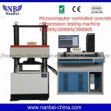 Macchina di prova concreta controllata di compressione del microcomputer