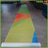 Impression faite sur commande de Digitals de promotion annonçant les drapeaux de câble de vinyle de PVC (TJ-AP1)