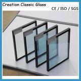 Temepered絶縁されたガラス/Low-Eガラス/低いE上塗を施してある建物ガラス