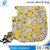 Fleur jaune bleue Mini8 de rose de type de chrysanthemum plus la caisse d'appareil-photo