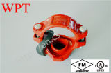 Grooved Mechanical Tee Joint für Plastic Coated Fire Pipe