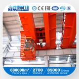 10ton máquina de arriba de la fundición de la grúa de la fundición de la viga doble del ~ 320ton