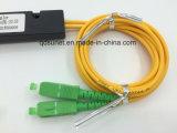 1X2 Sc/APC PLC-Faser-Optikteiler Fbt Koppler-Teiler