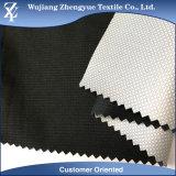 Tissu d'extension blanc respirable de voie du Spandex 4 de polyester de ratière de laminage de TPU