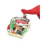 カスタム卸し売りスポーツは高品質メダルに着せる