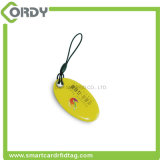 epoxi etiqueta inteligente personalizada impresión de CMYK 13,56 MHz NTAG213 NFC