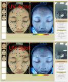 Analizador facial portable facial Wirh de la piel polarizado
