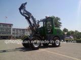 Venta popular en el mini cargador Hy610 de la rueda de Europa 1.0ton