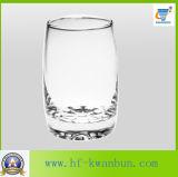 飲むガラスのガラス製品のための熱い卵の形のコップ
