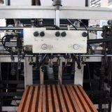 Tipo vertical inteiramente automático papel de Msfm-1050b da folha e de película do PVC OPP BOPP máquina