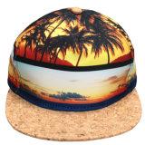 Snapback de madeira do espaço em branco da planície da borda da impressão feita sob encomenda de Havaí