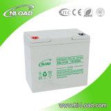 Batería del gel de la batería 12V 55ah de las energías eólicas