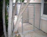大きく頑丈なケージの飼い犬猫の障壁の塀の練習の金属の演劇のペンの犬小屋