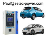 잘 고정된 20kw EV Repid 충전소 Chademo/CCS Setec 빨리 충전기 7kw-100kw