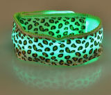 Wristband durable del centelleo LED para el funcionamiento Nigh