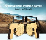 Het nieuwe AR-Kanon Bluetooth 3D het Ontspruiten Kanon Gamepad van AR van Spelen voor Smartphones