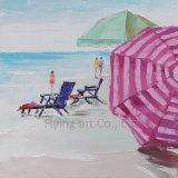 Pintura al óleo del paisaje marino de la reproducción del impresionismo