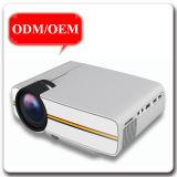 低い電力の消費携帯用完全なHDのホームムービーLEDのビデオプロジェクター