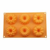 Профессиональные картины прессформы 3 торта силикона качества еды изготовления FDA/LFGB в 1