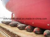 Navio marinho que lanç a bolsa a ar de borracha inflável