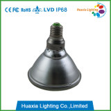 Diodo emissor de luz de E27 PAR38 IP68 subaquático/luz subaquática clara da associação