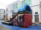 商業用等級膨脹可能な水スライド、販売のためのChidlrenのスライド