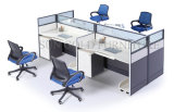 Preiswerte moderne Büro-Glaspartition-Zelle-runder Arbeitsplatz (SZ-WST769)