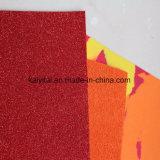Verschiedene Farben helles funkelndes EVA-Schaumgummi-Blatt