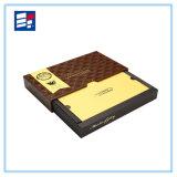 Изготовленный на заказ бумажная коробка для упаковывая подарка/электронно/одеяния/ювелирные изделия/кольца