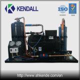 Unidade de condensação de compressor de refrigeração refrigerada a água