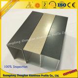 Profilo di alluminio elettroforetico del grano di legno di cristallo della qualità superiore