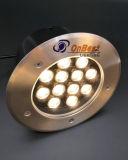 Las ventas calientes 12W lámpara LED de metro en IP67 en el precio competitivo