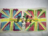 Шарф печати флага нации своеобразнейшего искусствоа надписи на стенах великобританский основанный на мягком маркизете 80s