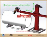 Machine de meulage de machine de polonais d'extrémité d'assiette/machine polonaise de pipe/machine de meulage