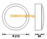 Hete LEIDEN van het Waterdichte schot van de Verkoop Lichte 18W Licht in IP65
