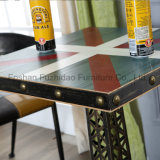 Mesa de café de madeira barata requintada estilo francês