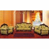 Sofá de la sala de estar con el marco de madera del sofá (D929G)