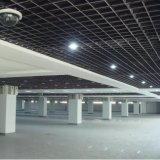 Design de interiores suspenso Open Grille Cell Ceiling with Aluminium Alloy Material