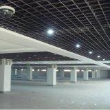 Het binnenlandse Plafond van de Cel van het Traliewerk van Suspened van het Ontwerp Open met het Materiaal van de Legering van het Aluminium