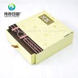 Exquisita cajón de papel de impresión de envases caja de regalo (Uso de té)