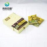 Rectángulo de regalo de empaquetado de papel del cajón exquisito (uso para el té)