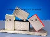 Garnitures Electroplated abrasives de main de diamant pour la glace et la pierre meulant 90*55mm