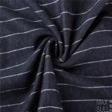 Telas de Mixd do Weave, das lãs e do poliéster do jacquard em preto e branco para o outono