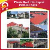 Telha de telhado plástica de Apvc com garantia 15years
