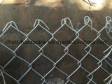 Frontière de sécurité/bétail enduits utilisés par cour de jeu de maillon de chaîne de PVC d'école et frontière de sécurité utilisée par Farden de maillon de chaîne à vendre le treillis métallique