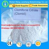 높은 순수성 Clomifene 구연산염 반대로 에스트로겐 스테로이드 CAS 50-41-9 Clomid