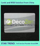 Vier Farbe Belüftung-Karten-Plastikkarte mit magnetischem Streifen für Bauteil