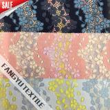 服のための多彩なフリンジパターンレースファブリック