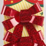 Feiertags-Dekoration-Weihnachten Beugen-Binden Anhänger (JG677)